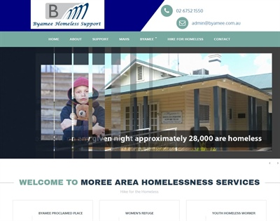 Byamee Proclaimed Place and their Fundraiser for Homeless Hike for the Homeless Facelift