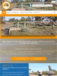 The Artesian Bore Waters Association mobile responsive website