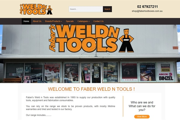 Faber's Weld n Tools